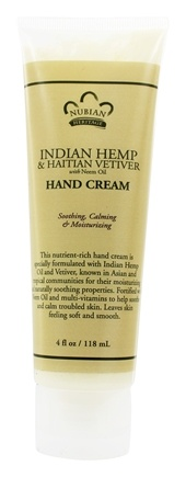 Zoom View - Hand Cream Indian Hemp & Haitian Vetiver