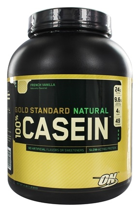 Zoom View - 100% Casein Gold Standard Natural Protein