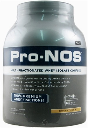 DROPPED: MRI: Medical Research Institute - Pro-Nos Multi-Fractionated Whey Isolate Complex Mochaccino - 3 lbs.