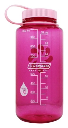 Nalgene - Everyday Tritan BPA Free Widemouth Water Bottle Pretty Pink - 32 oz.