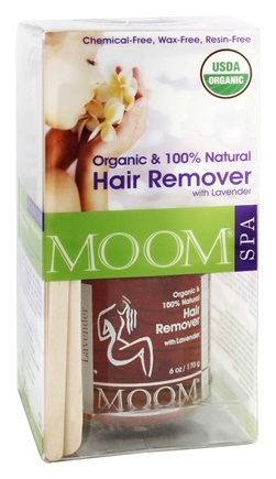 Moom - Organic Hair Remover with Lavender for Extra Sensitive Skin Kit