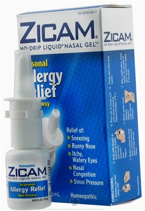 DROPPED: Zicam - No-Drip Liquid Nasal Gel Seasonal Allergy Relief - 0.5 oz. CLEARANCE PRICED
