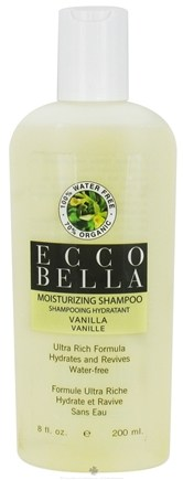 DROPPED: Ecco Bella - Holistic Remedies Shampoo Moisturizing Vanilla - 8 oz.