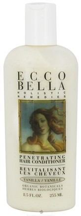 DROPPED: Ecco Bella - Holistic Remedies Hair Conditioner Penetrating Vanilla - 8.5 oz. CLEARANCE PRICED