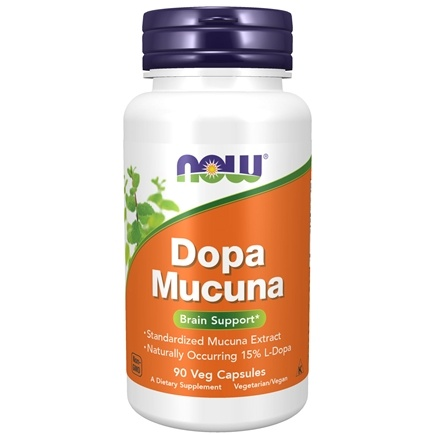 NOW Foods - DOPA Mucuna - 90 Capsules
