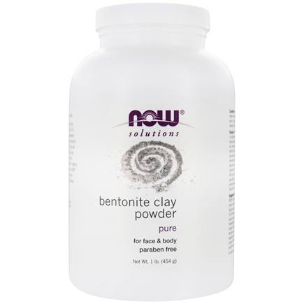 NOW Foods - Bentonite Clay Powder  - 1 lb.
