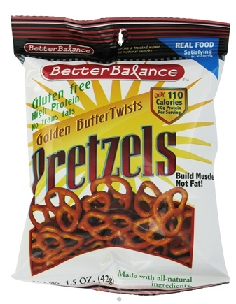 DROPPED: Kay's Naturals - Better Balance Pretzels Golden Butter Twists - 1.5 oz. CLEARANCE PRICED