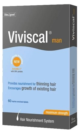DROPPED: Viviscal - Viviscal Hair Nutrition Program For Men Extra Strength - 60 Tablets