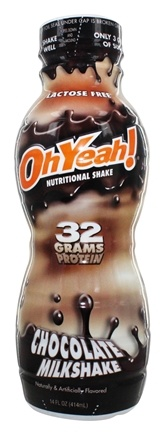 Zoom View - OhYeah RTD Nutritional Shake