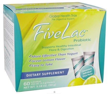 Zoom View - FiveLac Probiotic