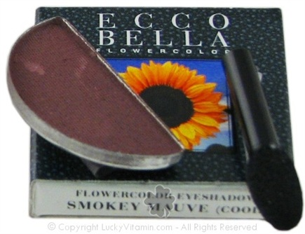 DROPPED: Ecco Bella - FlowerColor Eyeshadow Cool Smokey Mauve - 0.05 oz. CLEARANCE PRICED