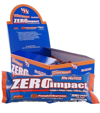 DROPPED: VPX - Zero Impact High Protein Meal Bar Pumpkin Supreme - 4 oz.