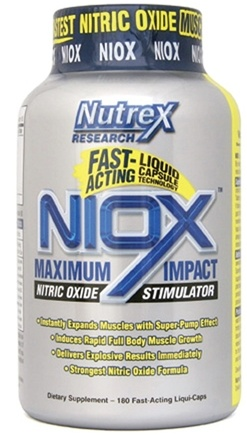 DROPPED: Nutrex - Niox - 180 Liquid Capsules CLEARANCE PRICED