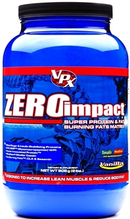 DROPPED: VPX - Zero Impact Super Protein & Fat Burning Matrix Vanilla - 2 lbs. CLEARANCE PRICED