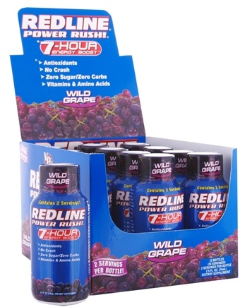 Zoom View - Redline Power Rush 7-Hour Energy Boost Shot