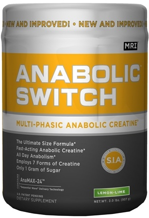 DROPPED: MRI: Medical Research Institute - Anabolic Switch Multi-Phasic Anabolic Creatine Lemon Lime - 2 lbs.
