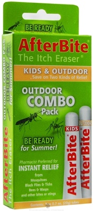 DROPPED: Tender - AfterBite Outdoor Insect Bite Relief Combo Pack - 2 Tubes CLEARANCE PRICED