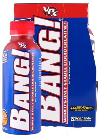 DROPPED: VPX - Bang RTD Stable Liquid Creatine Drink Mandarin Orange - 4 Pack(s) CLEARANCE PRICED
