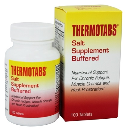 Numark Labs - Thermotabs Buffered Salt Supplement - 100 Tablets