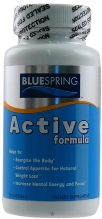 DROPPED: Blue Spring International - Active Formula - 30 Capsules CLEARANCE PRICED