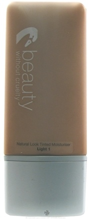 DROPPED: Beauty Without Cruelty - Natural Look Tinted Moisturizer Light 1 - 30 ml. CLEARANCE PRICED