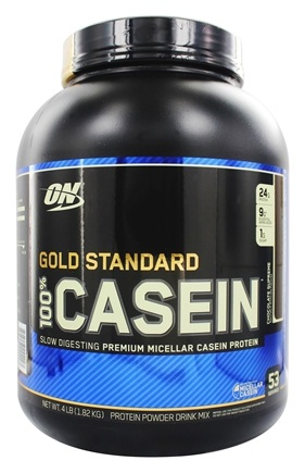 Optimum Nutrition - 100% Casein Gold Standard Chocolate Supreme - 4 lbs.