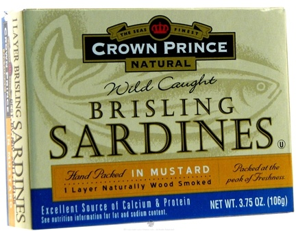 Zoom View - Brisling Sardines in Mustard