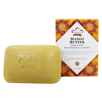 Nubian Heritage - Bar Soap Mango Butter - 5 oz.