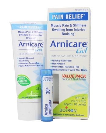 Zoom View - Arnicare Arnica Gel Value Pack + 1 - 30C Arnica Montana Blue Tube!