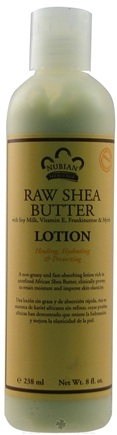 DROPPED: Nubian Heritage - Lotion Raw Shea Butter - 8 oz.