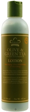 DROPPED: Nubian Heritage - Lotion Olive & Green Tea - 8 oz.