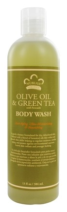 Nubian Heritage - Body Wash Olive & Green Tea Olive & Green Tea - 13 oz.