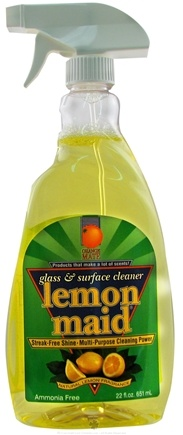 DROPPED: Orange Mate - Glass and Surface Cleaner Lemon Maid - 22 oz.