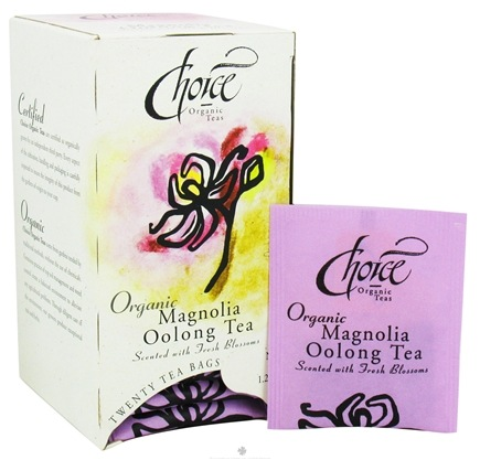 DROPPED: Choice Organic Teas - Gourmet Magnolia Oolong Tea - 20 Tea Bags