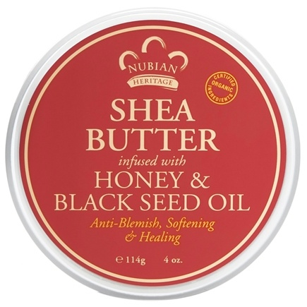 Nubian Heritage - Shea Butter Infused With Honey & Black Seed Oil - 4 oz.