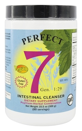 Zoom View - Perfect 7 Intestinal Cleanser Psyllium-Herbal Combination
