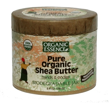 DROPPED: Organic Essence - Pure Organic Shea Butter - 4 oz. CLEARANCE PRICED