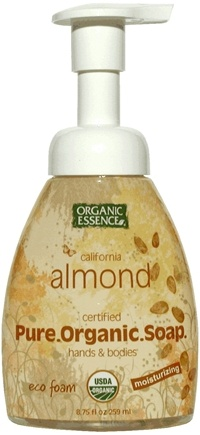 DROPPED: Organic Essence - Pure Organic Soap California Almond - 8.75 oz.