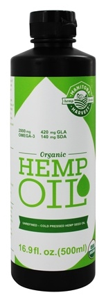 Zoom View - Organic Hemp Oil
