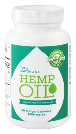Zoom View - Hemp Oil Essential Fatty Acid Supplement