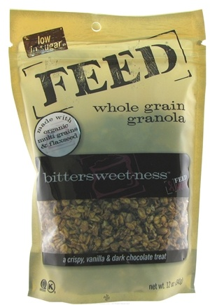 DROPPED: Feed Granola - Whole Grain Granola Bittersweet-ness - 12 oz.