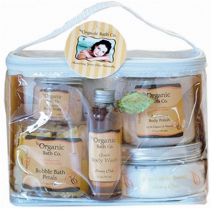 DROPPED: Organic Bath Company - Instant Spa Gift Set Honey Chai
