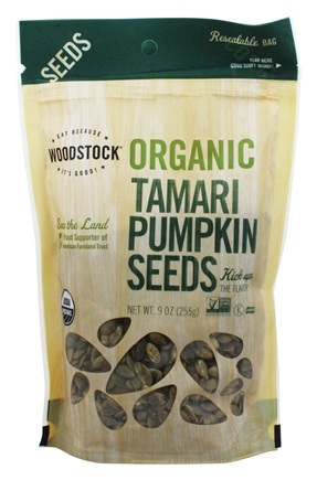 Woodstock Farms - Organic Tamari Pumpkin Seeds - 9 oz.