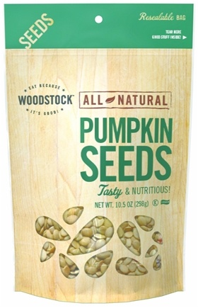 DROPPED: Woodstock Farms - All-Natural Pumpkin Seeds Raw - 11 oz.