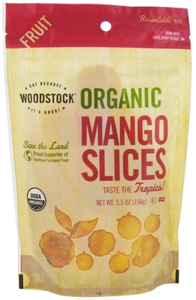 DROPPED: Woodstock Farms - Organic Mango Slices - 5.5 oz.
