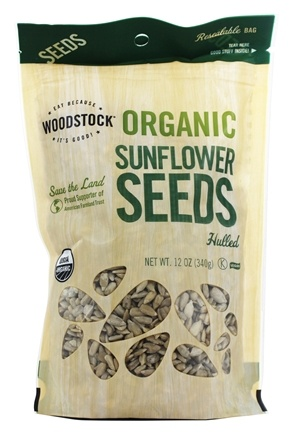 Woodstock Farms - Organic Hulled Sunflower Seeds - 12 oz.