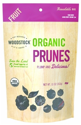 DROPPED: Woodstock Farms - Organic Prunes - 11 oz. CLEARANCE PRICED
