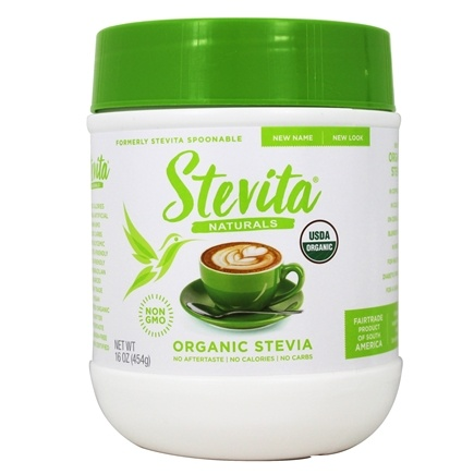 Stevita - Spoonable Organic Stevia Sweetener Powder - 16 oz.