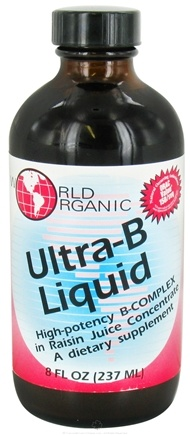 DROPPED: World Organic - Ultra B Liquid - 8 oz.