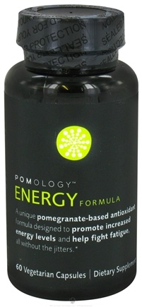 DROPPED: Pomology - Energy Formula - 60 Vegetarian Capsules CLEARANCE PRICED